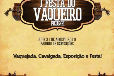 I Festa do Vaqueiro de Picos terá cavalgada, exposição, shows e vaquejada com premiação de 10 mil