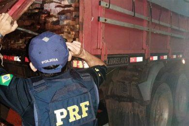PRF de Picos aprende madeira com documento em nome de pessoa morta em 2014