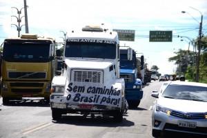 Sindicato diz que caminhoneiros têm dificuldades de ir e vir dentro do Piauí