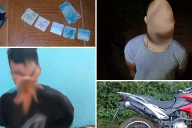 Após 16h de trabalho ostensivo, PM de Picos captura dupla de assaltantes