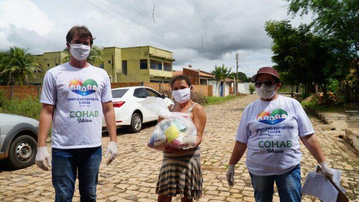 Complexo Esportivo Cohab realiza ação solidária que beneficia 350 famílias