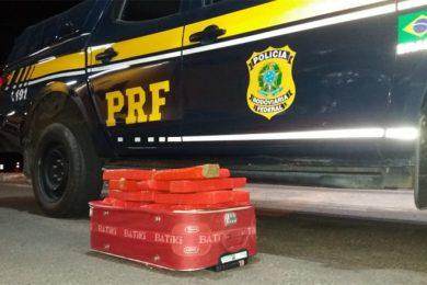 Passageiro que vinha pra Picos é flagrado transportando 14 quilos de droga em ônibus