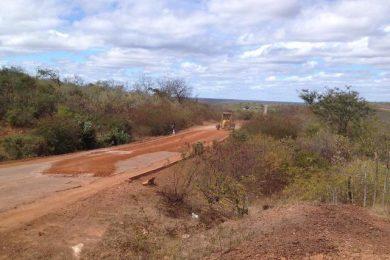 DER inicia a recuperação da PI entre Bocaina a São João da Canabrava
