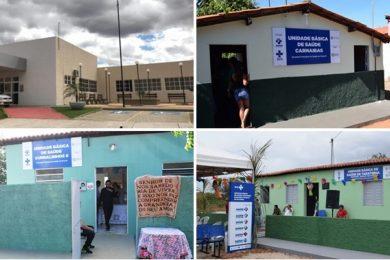 Em seis anos, Padre Walmir inaugura 58 obras na área da saúde em Picos