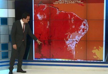 Teste mostra temperatura de 57°C no asfalto; Picos e mais 175 cidades do Piauí podem bater recorde de calor
