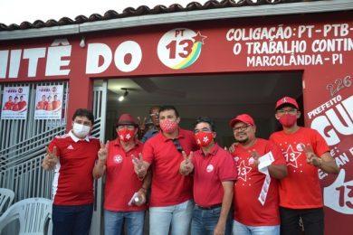 Comitê do 13 é inaugurado em Marcolândia com a presença de centenas de apoiadores