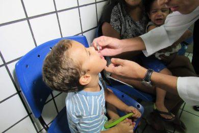 Vacinação contra a Poliomielite vai até 30 de novembro em Picos