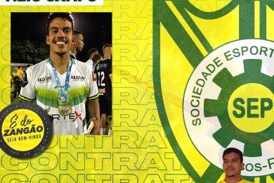 De olho no título estadual, Picos anuncia goleiro Vitor e retorno do meia Idevan