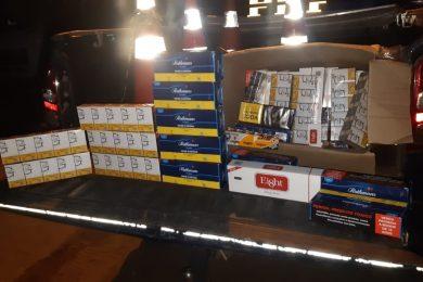 PRF apreende carga de cigarros contrabandeados em Picos