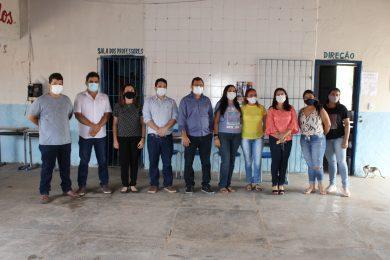 Vereadores e Secretária de Educação visitam escolas municipais de Picos