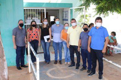 Vereadores e secretário de saúde de Picos visitam Unidades de Saúde do município