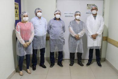 Vereadores visitam Hospital Regional Justino Luz e cobram a instalação de 20 novos leitos