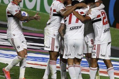 4 de Julho é atropelado pelo São Paulo e perde por 9 a 1