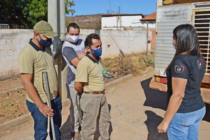 Projeto de castração de animais de rua é iniciado no bairro Parque de Exposição