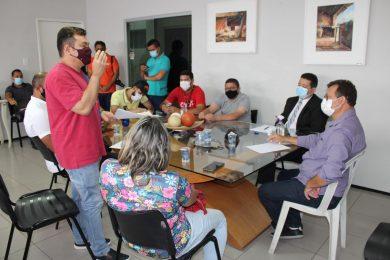 Reunião na Câmara Municipal discute a realização de festas e eventos em Picos