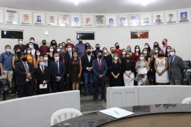 Câmara Municipal de Picos homenageia Fisioterapeutas e Terapeutas Ocupacionais